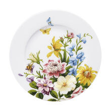 Floral Salad Plate