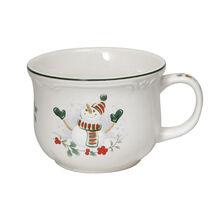 Snowman Jumbo Soup Mug
