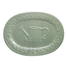 Embossed Oval Platter