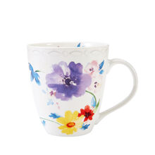 Multi Colored Floral Mug