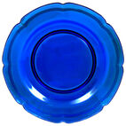 Cobalt Glass Charger Platter