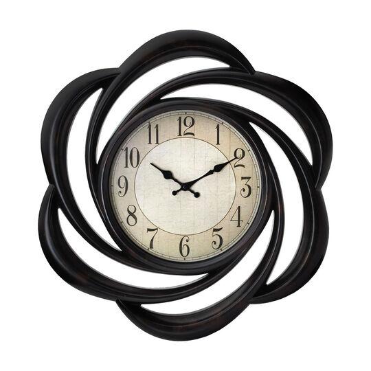 Round Swirl Clock