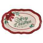 Holiday Merry Christmas Plate