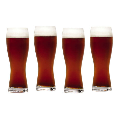 Set of 4 Wheat Glasses