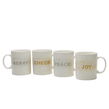 Confetti Set of 4 Mugs