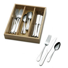36 Piece Flatware Set with Caddy