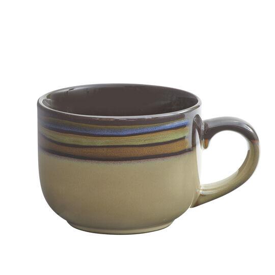 Blue Jumbo Soup Mug