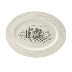 Country Garden Oval Platter