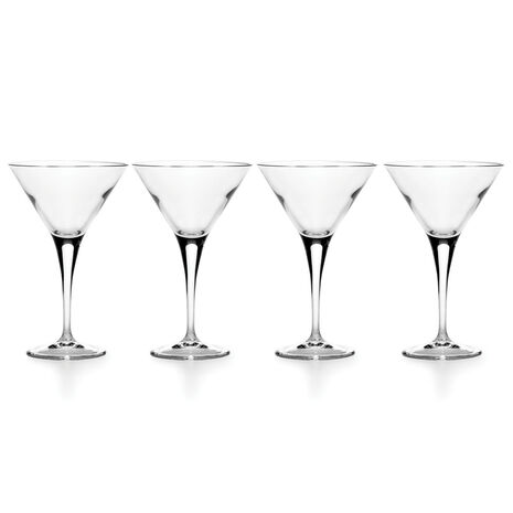 Set of 4 Martini Glasses