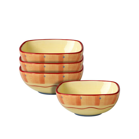 Set of 4 Square Bowls