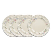 Set of 4 Luncheon Plates