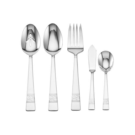 5 Piece Flatware Hostess Set