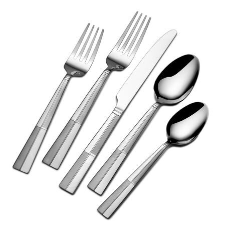 Arabesque Frost 20 Piece Flatware Set