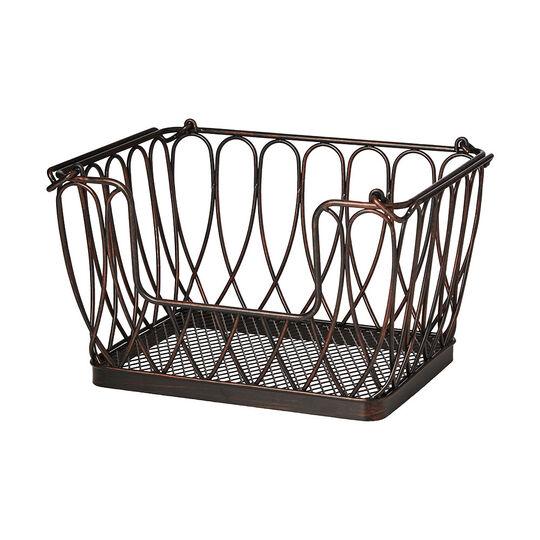 Stacking Loop Organization Basket