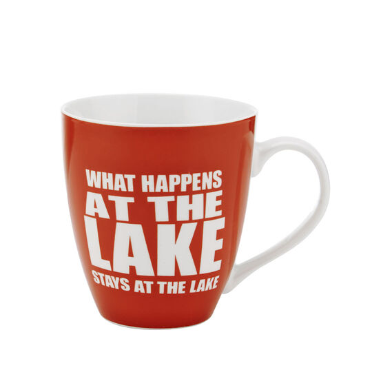 What Happens At The Lake Stays At The Lake Mug