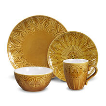 Honey 16 Piece Dinnerware Set