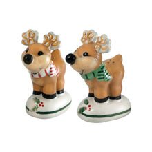 Jolly Reindeer Salt and Pepper Set