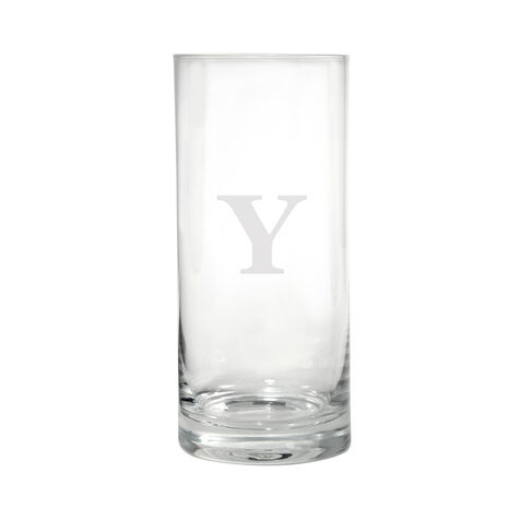 Monogram Y Highball Glass