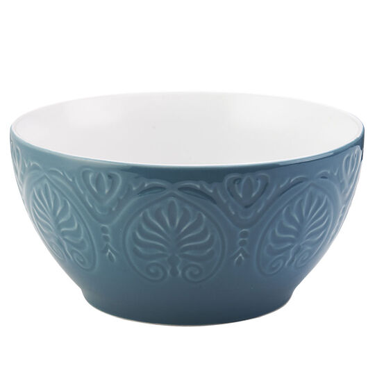 Turquoise Round Vegetable Bowl