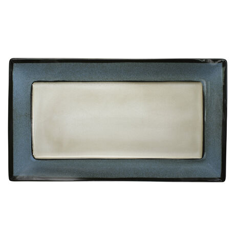 Blue Rectangular Platter