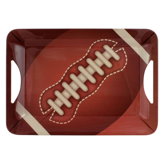Melamine Rectangular Football Tray