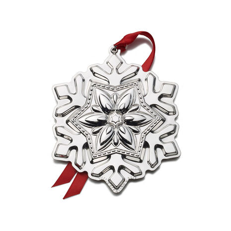 2016 Sterling Snowflake Ornament, 2nd Edition