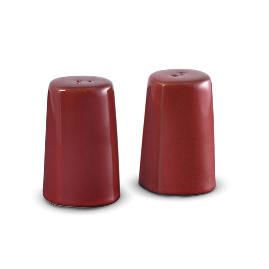 Red Salt and Pepper Set