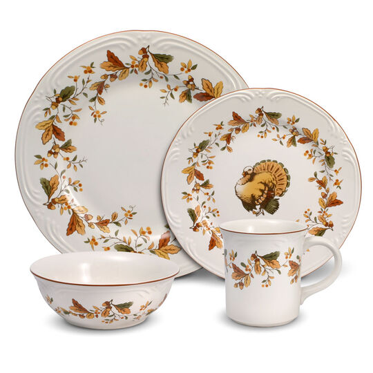 Autumn Berry 16 Piece Dinnerware Set