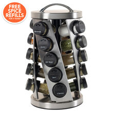 20 Jar Twist Spice Rack