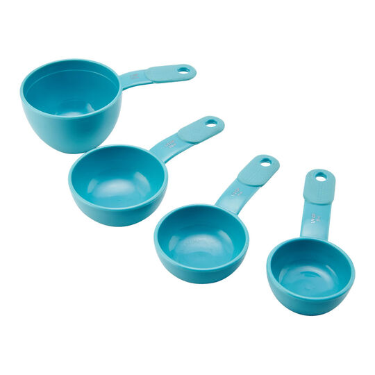 Set of 4 Aqua Sky Measuring Cups
