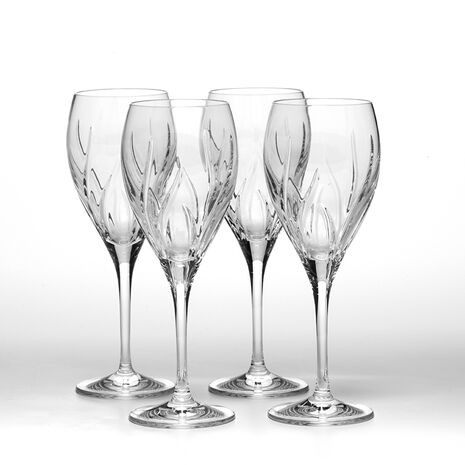Set of 4 Crystal Goblets