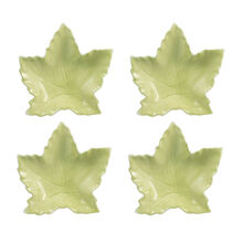 Set of 4 Leaf Shaped Dishes