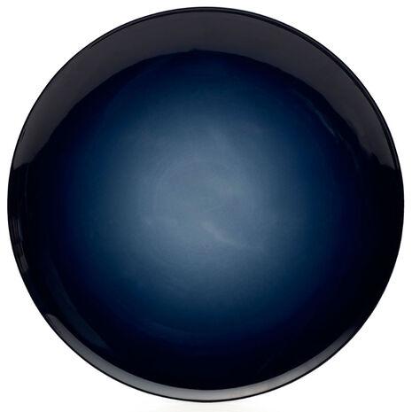 Blue Round Platter