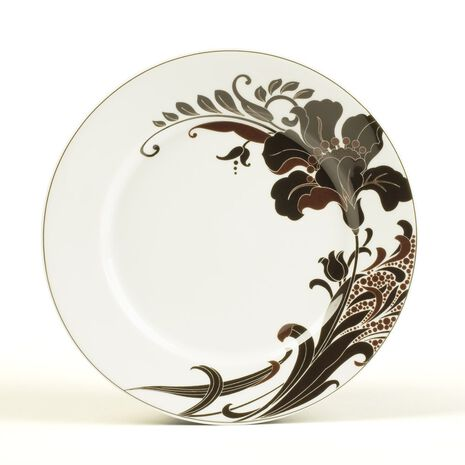 Accent Plate, Lily