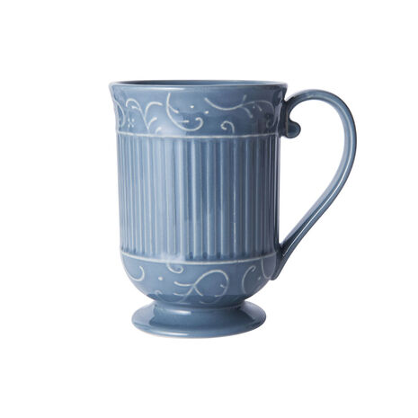Scroll Blue Mug