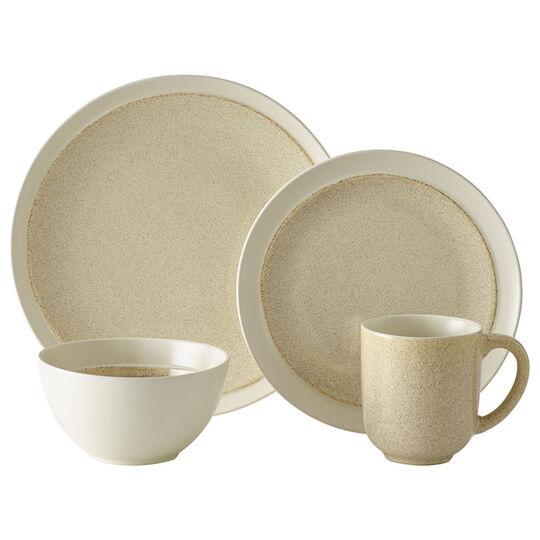 Cream 32 Piece Dinnerware Set