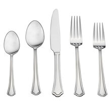Capri Frost 53 Piece Flatware Set