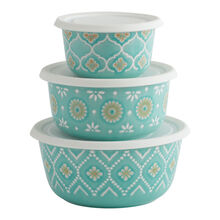 Set of 3 Bowls with Lids