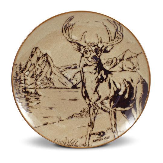 Deer Dinner Plate