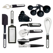 16 Piece Black Gadget Set
