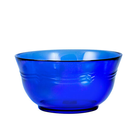Cobalt Glass Cereal Bowl