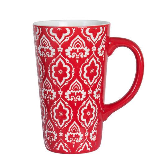 Tall Red Mug