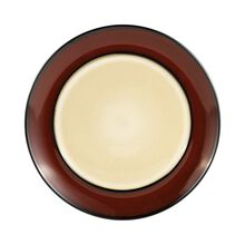 Red Round Dinner Plate