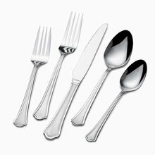 Capri Frost 51 Piece Flatware Set