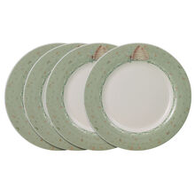 Set of 4 Accent Dinner Plates