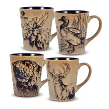 Set of 4 Assorted Mugs
