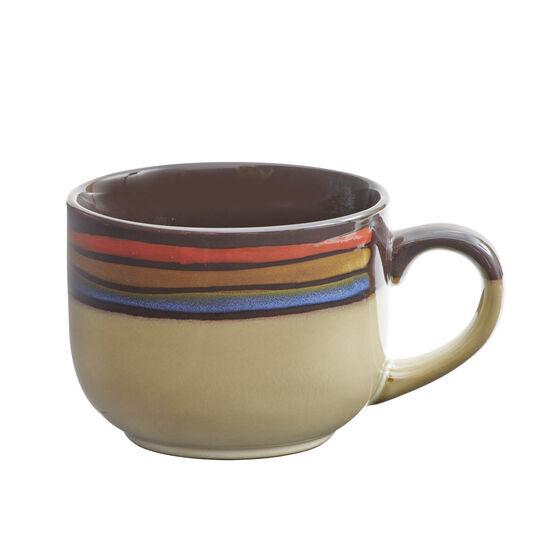 Red Jumbo Soup Mug