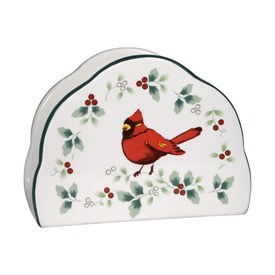 Cardinal Napkin Holder