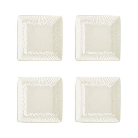 Square Dipping Plates, Set of 4