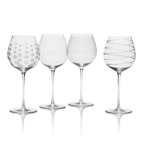 White Wine Glasses, Set of 4